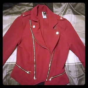 S Burgandy jacket
